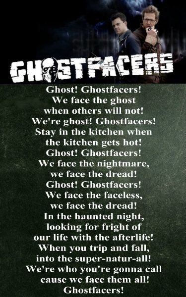 GHOSTFACERS!!!!!! I think they bother me more than they should. I really don't like them, but I think it is hilarious when they act all superior.