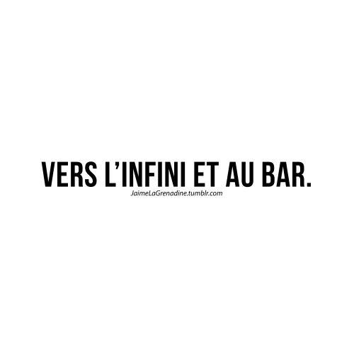 Vers l'infini et au bar - #JaimeLaGrenadine