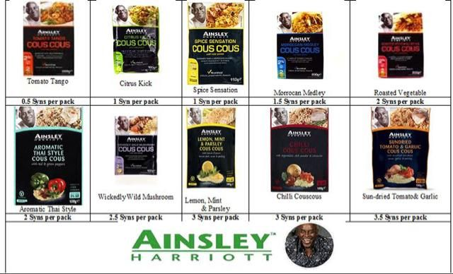 Ainsley Harriot Syns :)