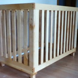 Free DIY Furniture Plans to Build a Land of Nod Inspired Low Rise Crib | The Design Confidential