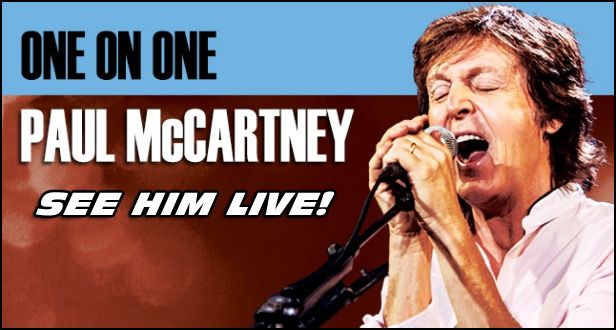Don't Miss PAUL MCCARTNEY on tour in 2017 and at a venue near you!