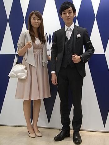 結婚式カップルコーディネート☆ | 吉祥寺店 | THE SUIT COMPANY  [ザ スーツ カンパニー]公式ショップブログ