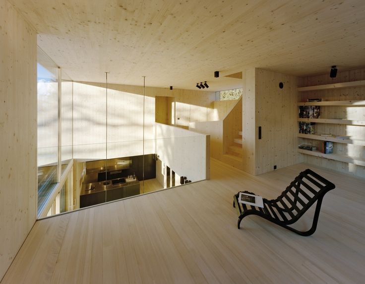 Cross-laminated timber by Stora Enso in Sistrans, Austria