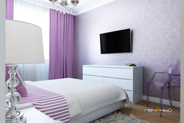 Дизайн спальни в панельном доме П-44