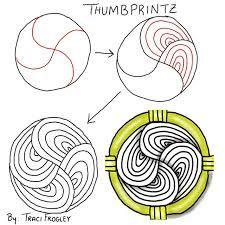 Resultado de imagen para easy zentangle patterns Más