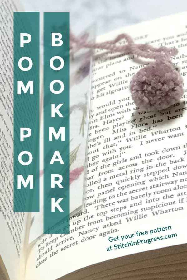 Learn How To Make This Easy Diy Bookmark With A Cute Yarn Pom You Can Create Custom Bookmarks In Minutes Simple Process And Technique