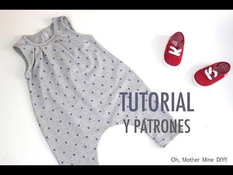 DIY Tutorial y patrones: Pantalon de niño - YouTube