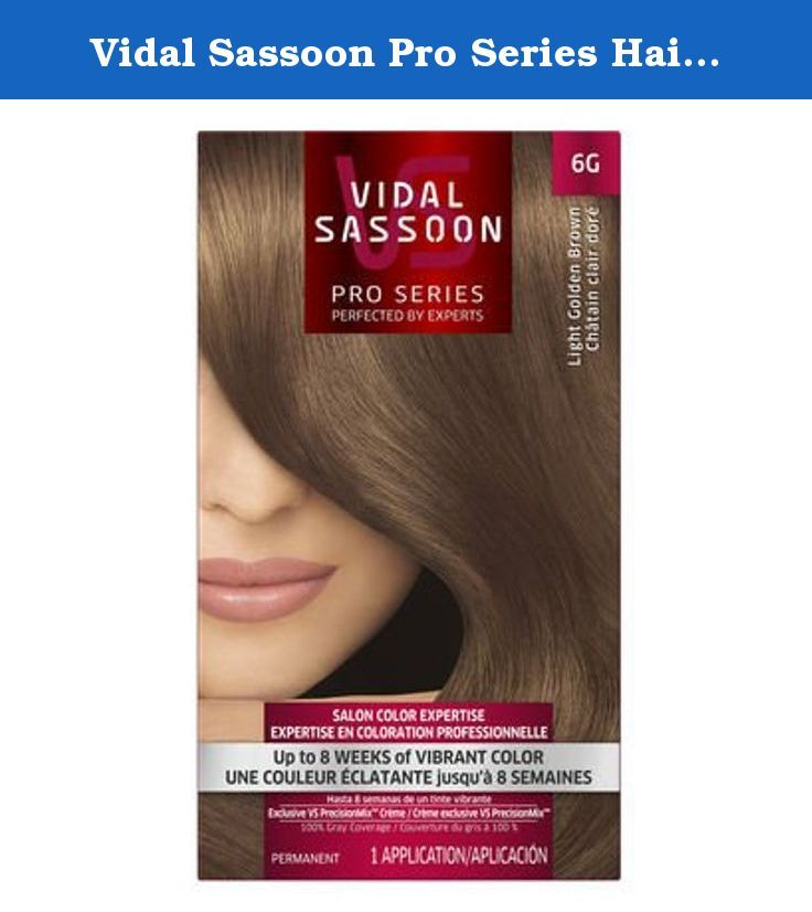 Vidal Sassoon Pro Series Hair Color Light Golden Brown 1 Kit, 1 ct (Pack of 3). Vidal Sassoon Pro Series Hair Color London Luxe 5VR London Lilac Kit Includes: •Permanent Color Creme •Developer Creme •Color Preserving Conditioner Now you can let your hair color ideas run wild and get the color you crave with amazing, on-trend colors from Vidal Sassoon. Up to 8 weeks of fashionably bold, salon vibrant purple hair color. Exclusive Vidal Sassoon PrecisionMix Color Creme Formulas are mixed to...