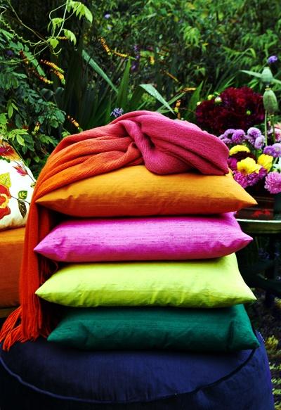 Dupion Silk cushion