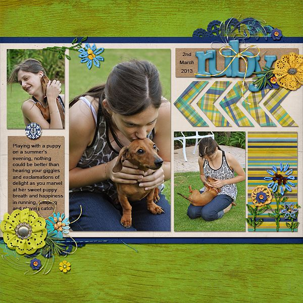 Ideas for Adding Crafty Handmade Touches to Your Scrapbook Layouts   Stefanie Semple   Get It Scrapped