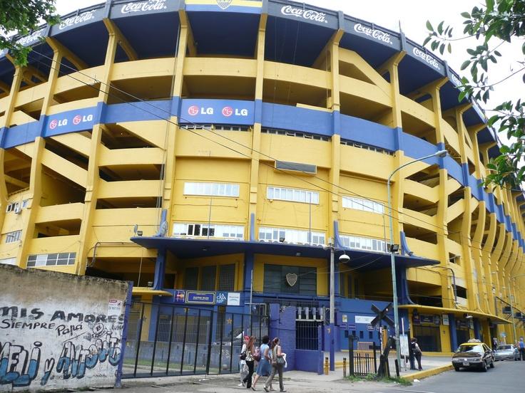 La Bombonera: Boca Juniors Stadium (http://en.wikipedia.org/wiki/Estadio_Alberto_J._Armando)