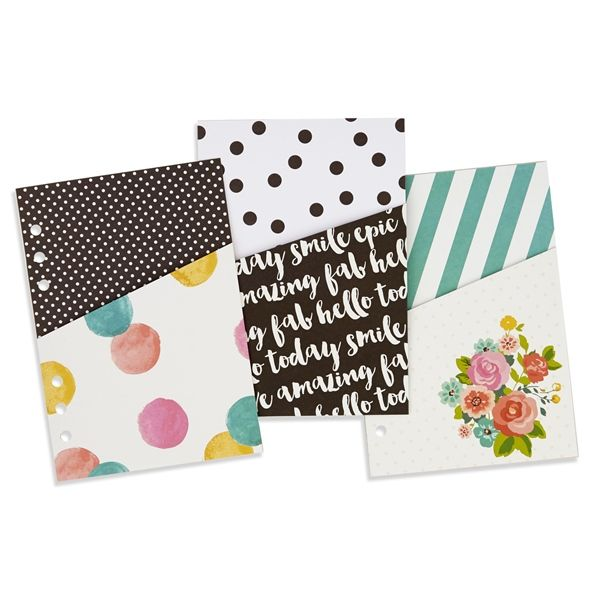 planner accessories | Details about Simple Stories Carpe Diem Planner Accessories - A5 ...