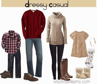 Christmas Family Picture Outfit Ideas |