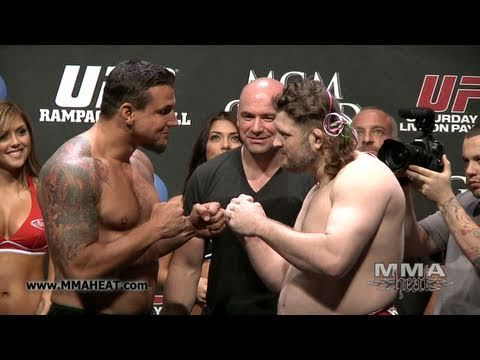 UFC 130: Frank Mir vs Roy Nelson: Weigh-In + Face-Off - YouTube
