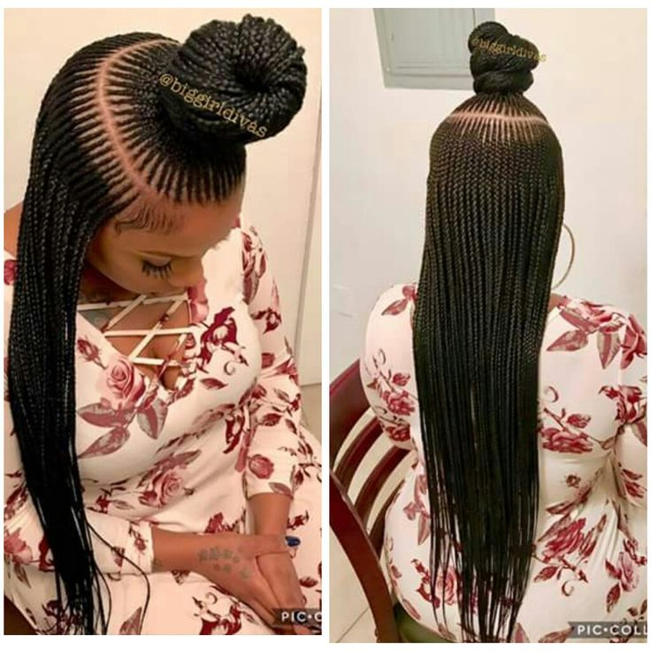 Save Long Dess Braids Hairstyle For Black Women