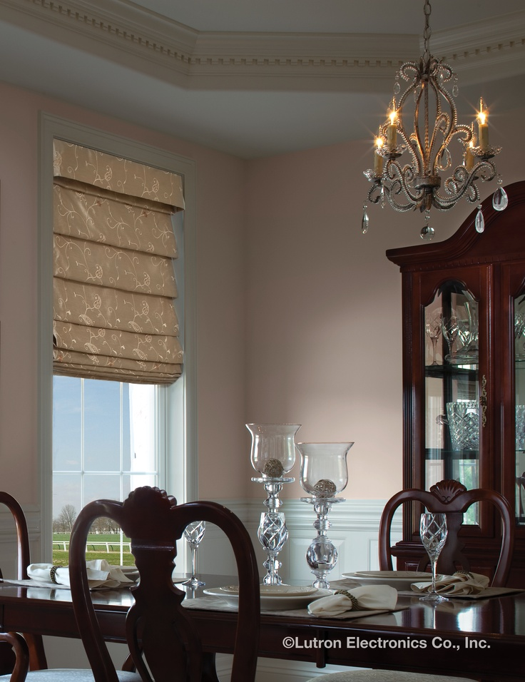 29 best images about bay window ideas on pinterest bay for Roman shades for bay windows