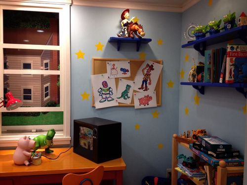 Toy Story Andy S Room Disney Pinterest Toys Toy