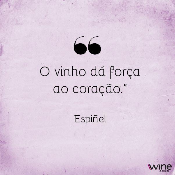 O vinho faz a vida ficar muito melhor! #wine #vinho #vida