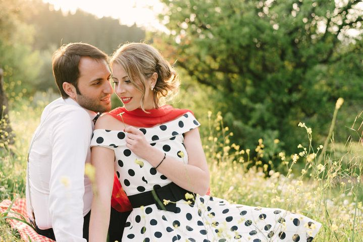 #Vintage #prewedding photoshoot for #invitation #wedding #photographer #Greece