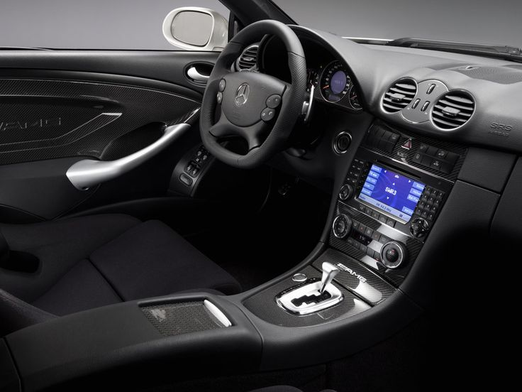 the newly developed amg performance steering wheel of the clk 63 amg black series features fears