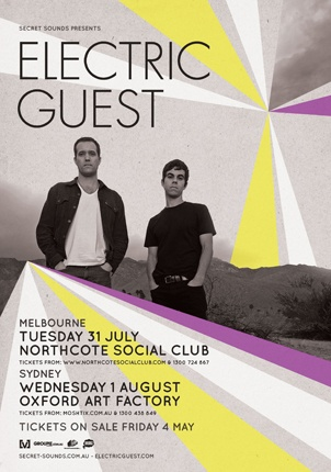 Electric Guest July 2012