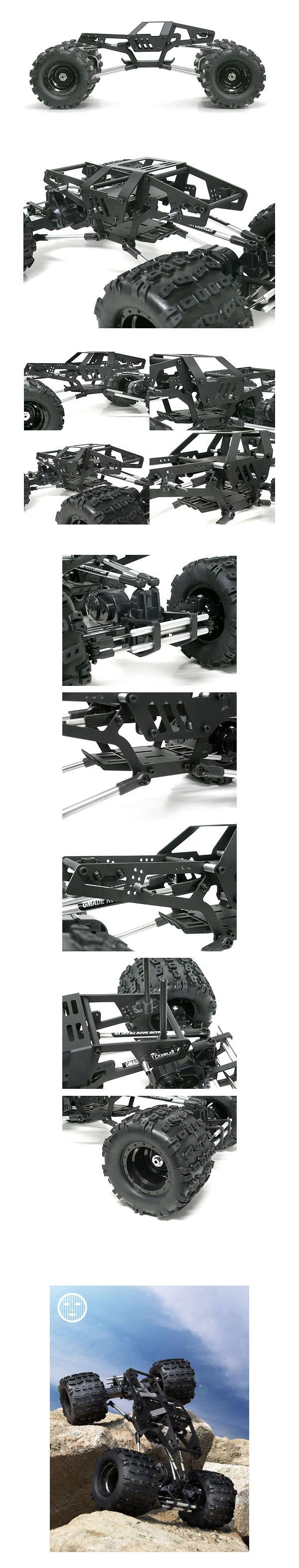 Stealth Rock Crawler Truck Kit(Discontinued) : Gmade Dealer Webstore