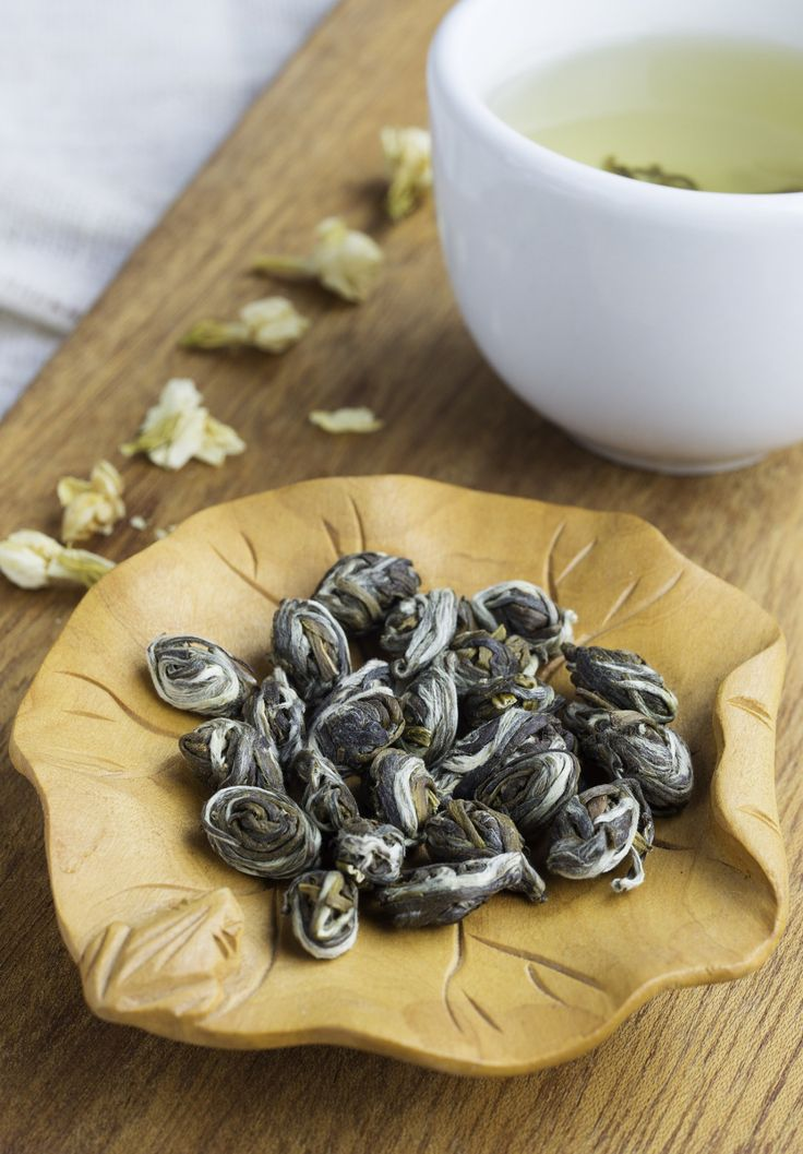 The beautiful fragrance of jasmine tea