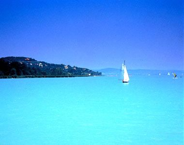 Lake Balaton, Hungary..  WOW!