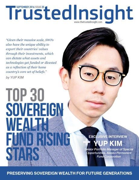 Yup Kim is a Senior Portfolio Manager of Special Opportunities at the Alaska Permanent Fund Corporation, a $55 billion sovereign wealth…