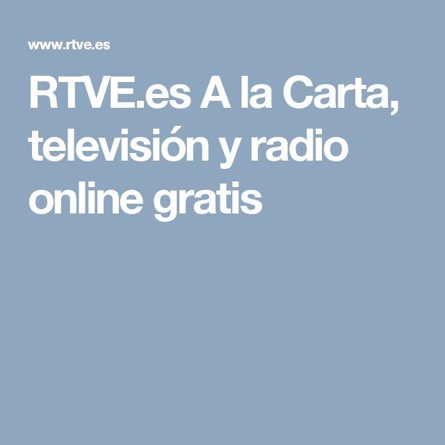 RTVE.es A la Carta, televisión y radio online gratis