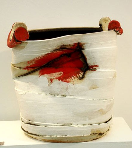 Ceramics by John Higgins at Studiopottery.co.uk - Work exhibited at Hatfield Art in Clay 2009 where John was winner of the Peers Award