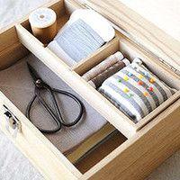 裁縫、薬、道具。昔ながらの「箱」を取り入れて、暮らしをもっと豊かに