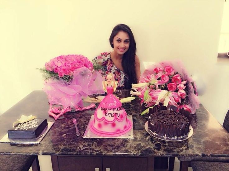 Krystle DSouza Celebrates 24th Birthday