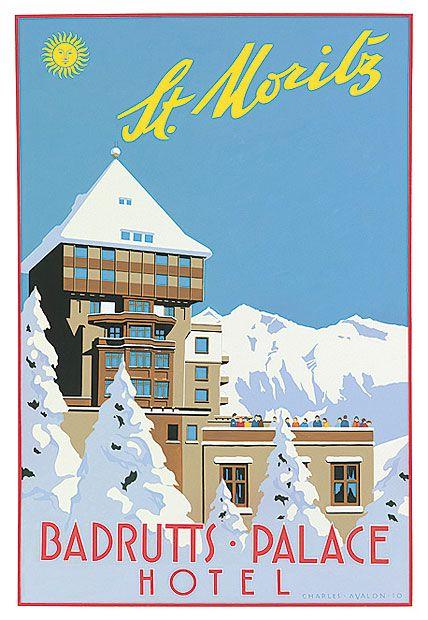 Badrutt's Palace Hotel _______________________________ St. Moritz ~ Switzerland