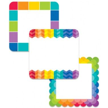 "Rainbow Cards 6"" Designer Cut-Outs Painted Palette"