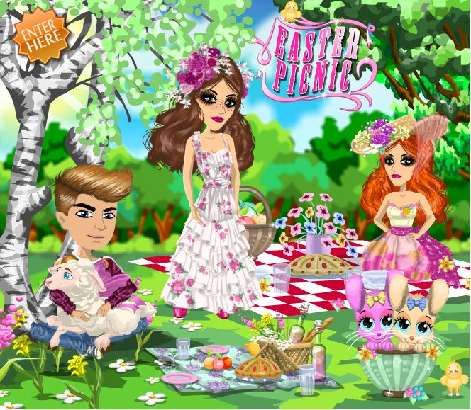 EASTER theme at #moviestarplanet #MSP www.moviestarplanet.com