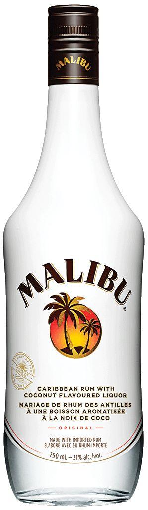 Malibu Coconut Rum - 477836 | Manitoba Liquor Mart
