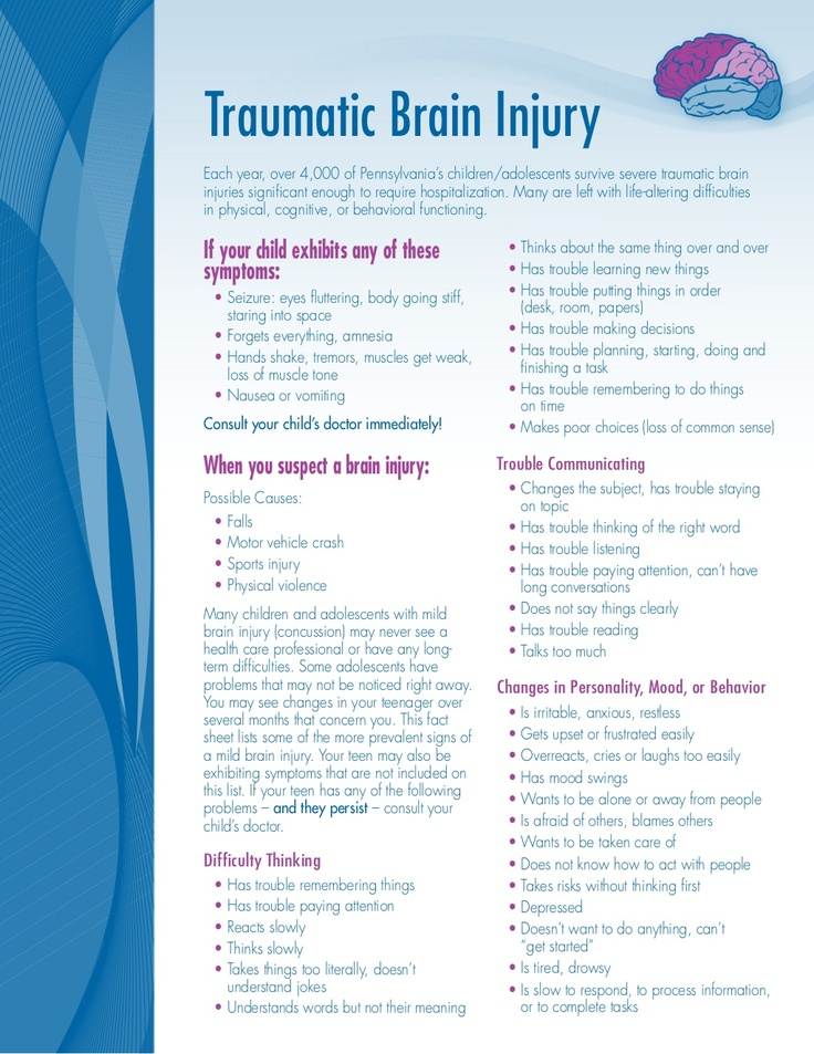 84 Best Concussion Images On Pinterest Traumatic Brain Injury
