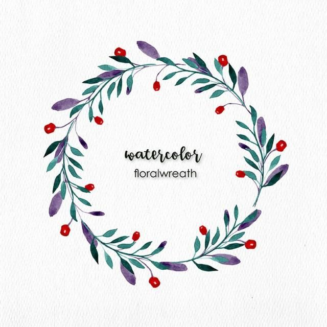 Watercolor Floral Wreath Watercolor Floral Flowers Png And Vector With Transparent Background For Free Download Floral Wreath Watercolor Wreath Watercolor Floral Watercolor