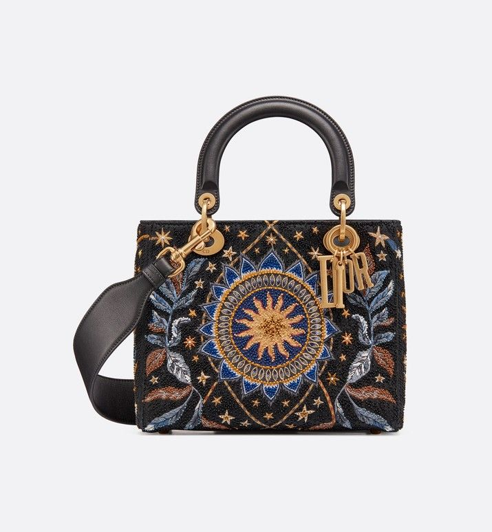 eda9f0231a5 Lady Dior Nature Ballet bag aria_frontView | Handbags in 2019 ...