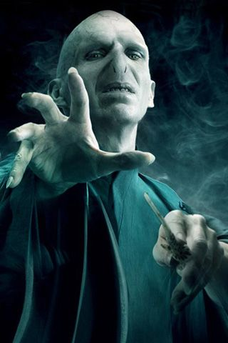 Ralph Fiennes as Lord Voldemort in Harry Potter and the Deathly Hallows: Part 2