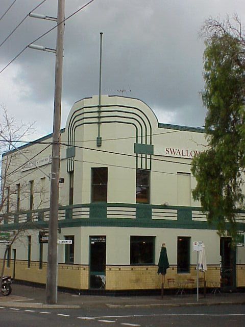 Art Deco.... Buildings: Swallows biscuit factory of Port Melbourne, Victoria, Australia