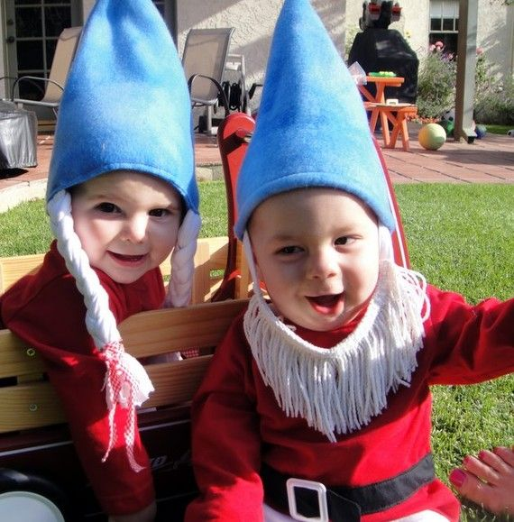 Baby Gnome Costume  Sizes 6 mo 12mo 18mo  by TheRadicalThreadCo, $55.00