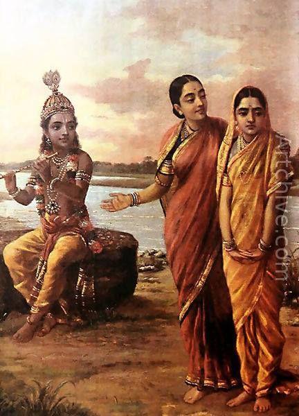 krishna looks at 2 gopis sita ram pinterest krishna