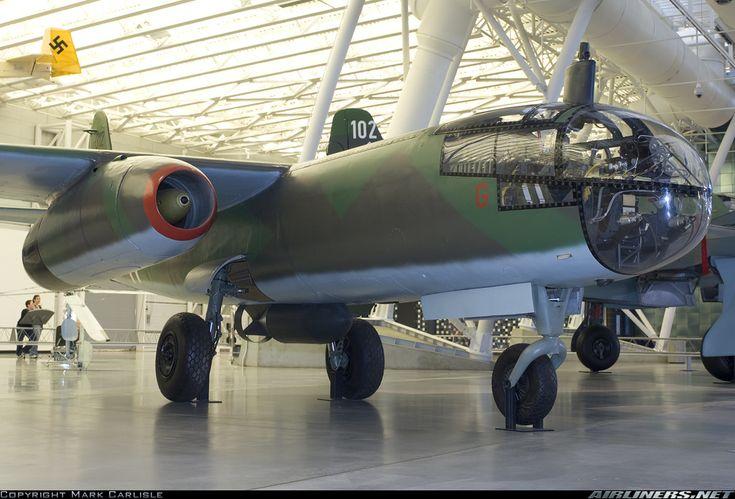 Arado Ar-234 Blitz, first jet bomber in aviation history.