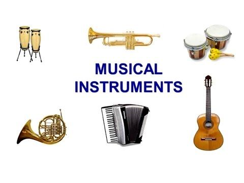 Musical instruments sounds for kids - YouTube