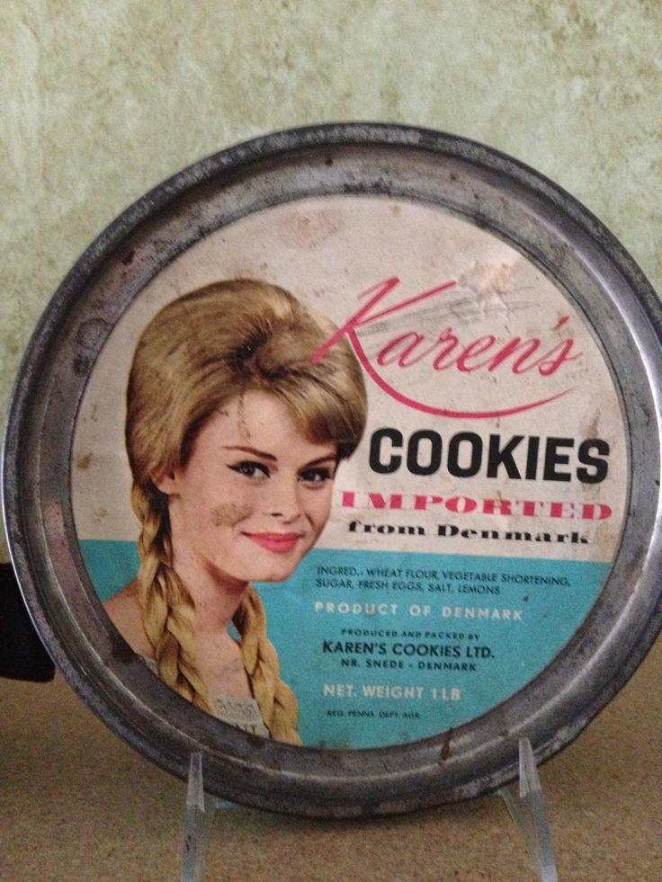 Karen's biscuit tin