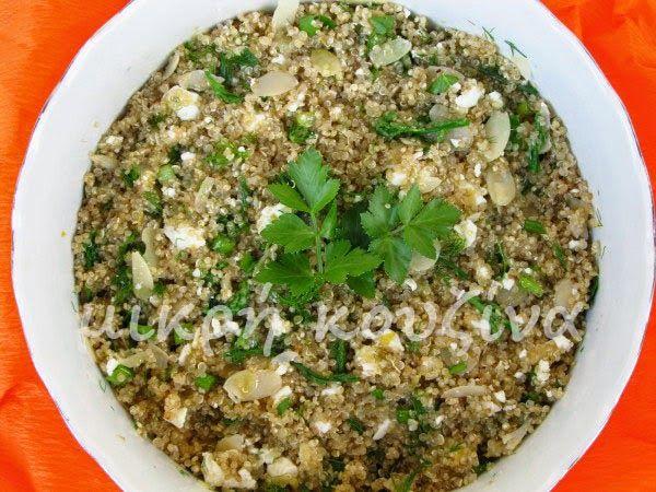 μικρή κουζίνα: Σαλάτα με κινόα και άγρια σπαράγγια