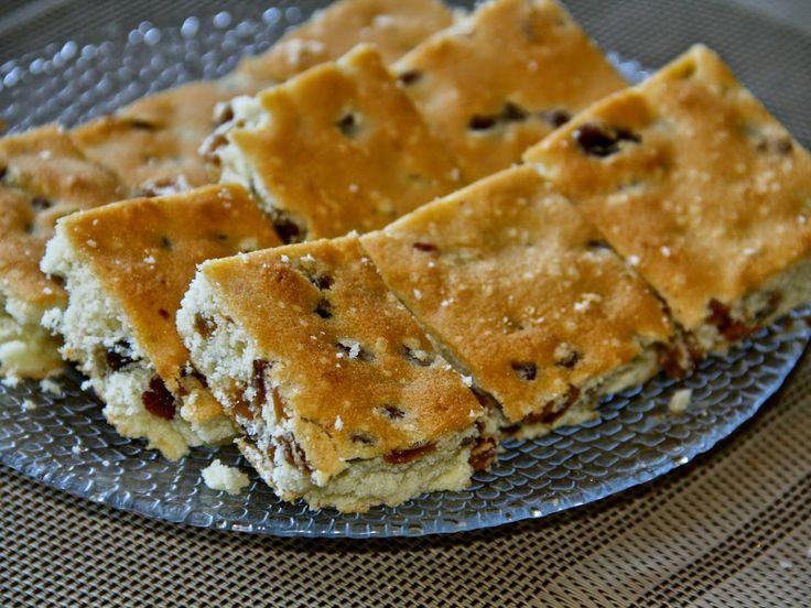 Белковое печенье с изюмом
