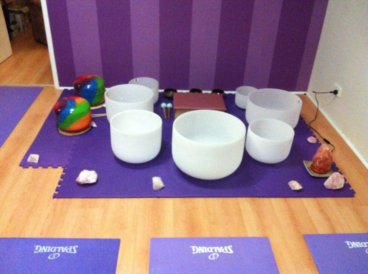 My Crystal & Tibetan Bowls and Gasong Drums Used for Vibrational / Sound Healing #stephengiles